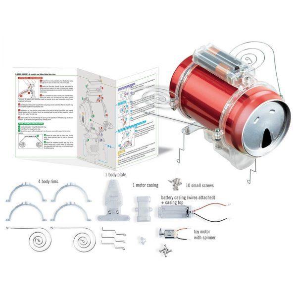 רובוט חרק מפחית שתיה - תכולה