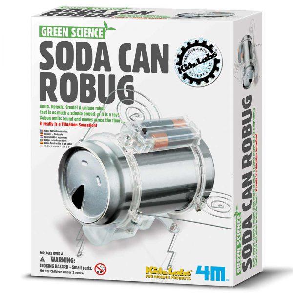 רובוט חרק מפחית שתיה - אריזה