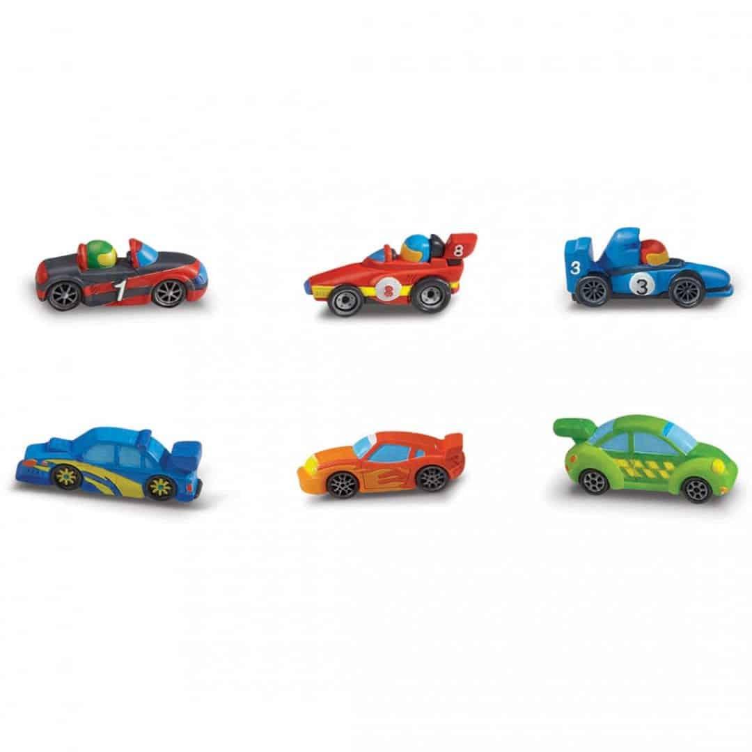 מגנטים גבס - מכוניות מרוץ