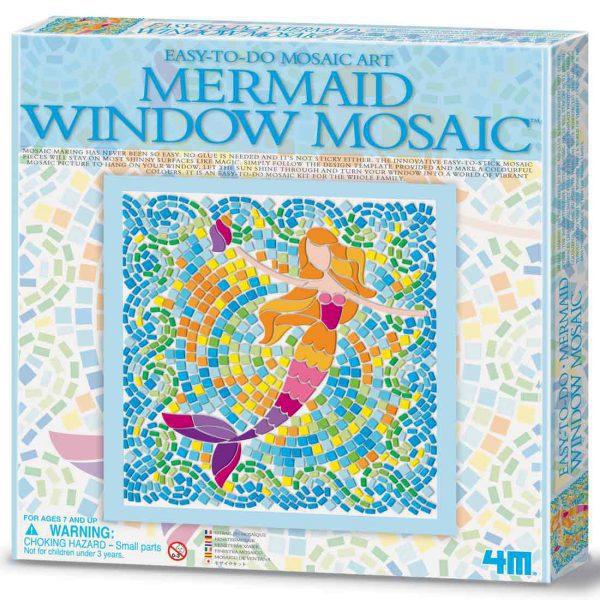 מוזאיקה לחלון - בת הים