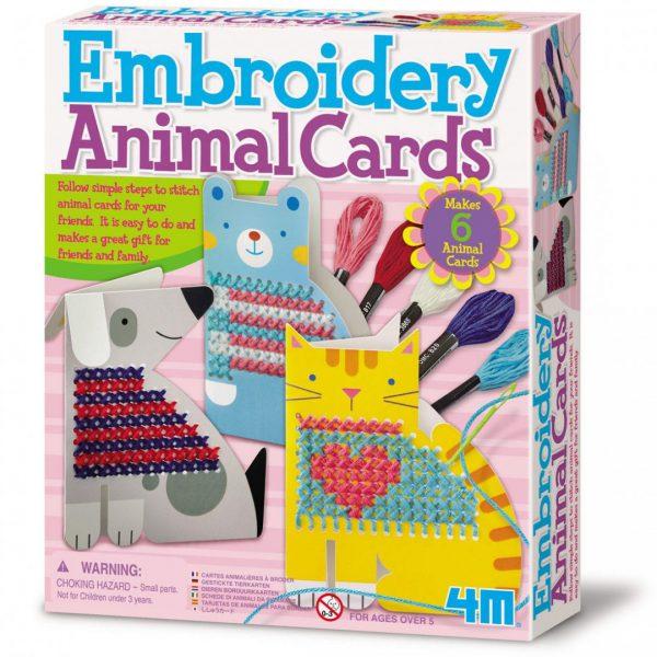 כרטיסי חיות רקומים