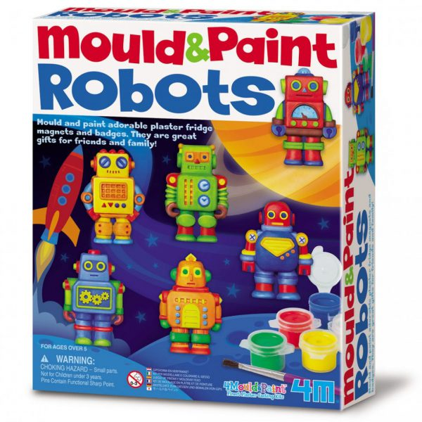 מגנטים גבס - רובוטים