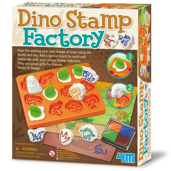 יצירת חותמות דינוזאורים