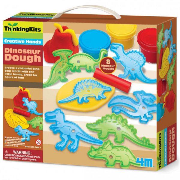 ערכת בצק דינוזאורים