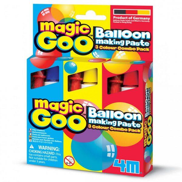 משחה ליצירת בלונים Magic Goo שלושה באחד