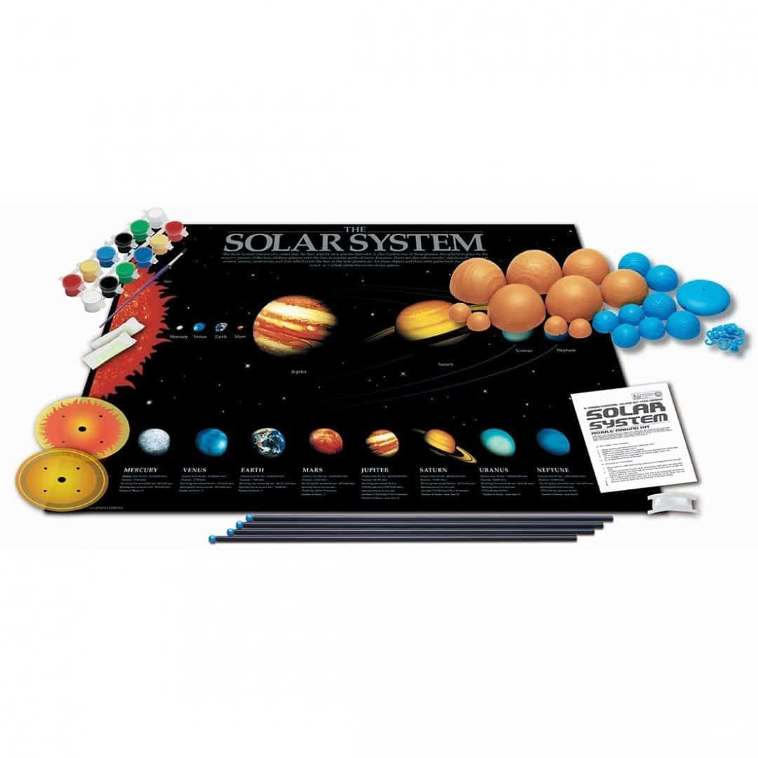 מובייל מערכת השמש תלת מימדי