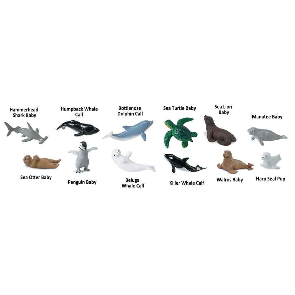צאצאי חיות הים