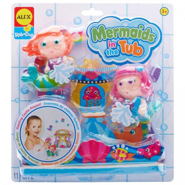 צעצועי אמבט - בנות הים באמבטיה