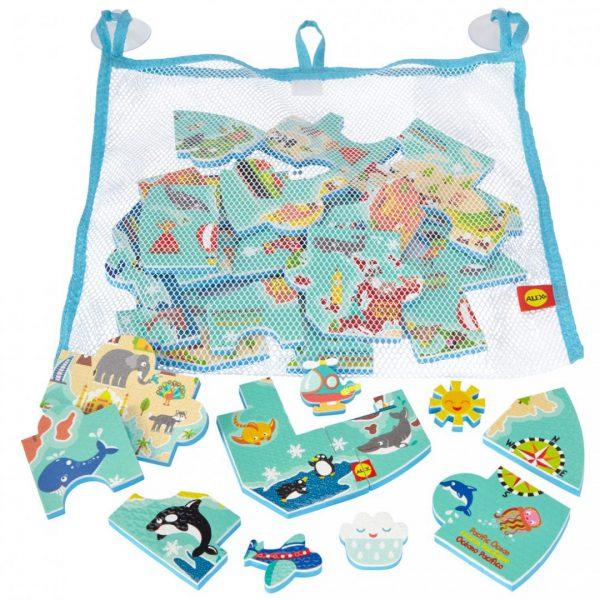 צעצועי אמבט - מפת העולם