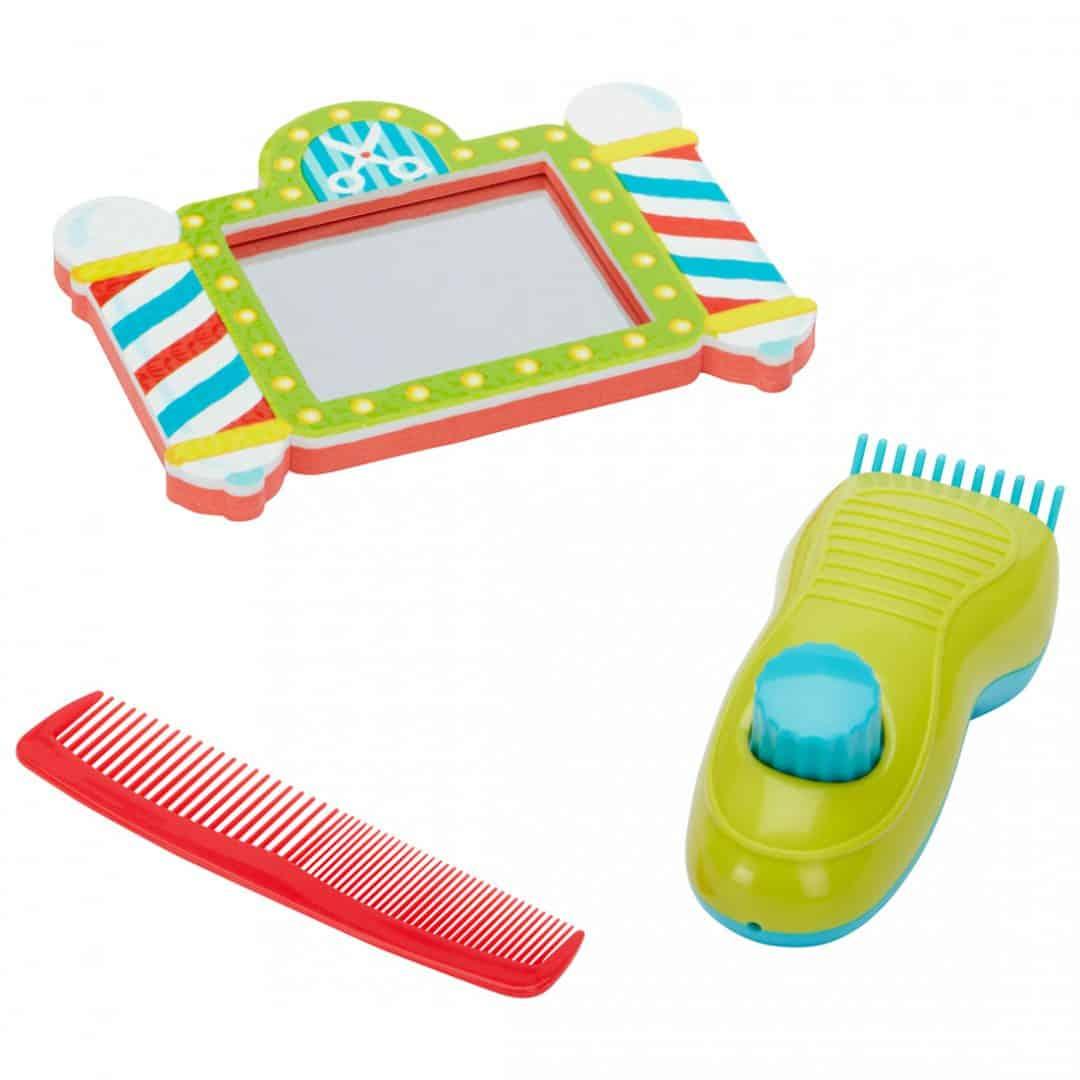 צעצועי אמבט - מספרה באמבטיה