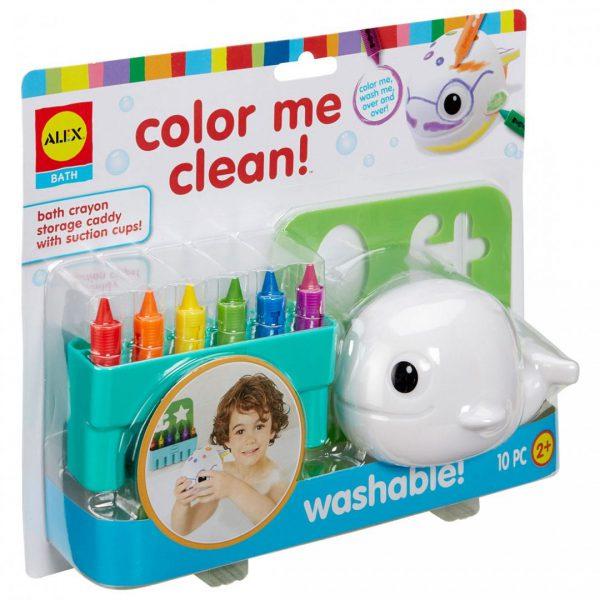 צעצועי אמבט - צביעה ושטיפה של לוייתן