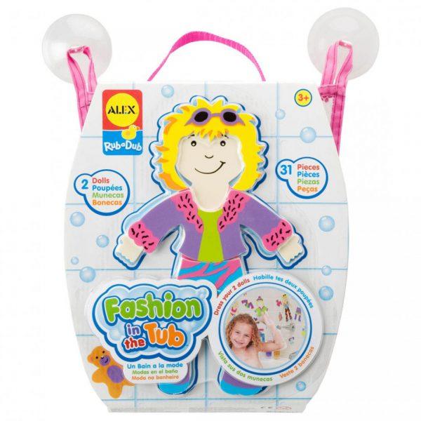 צעצועי אמבט - עיצוב אופנה לאמבטיה