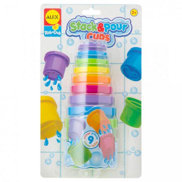 צעצועי אמבט - משחק מזיגה בכוסות
