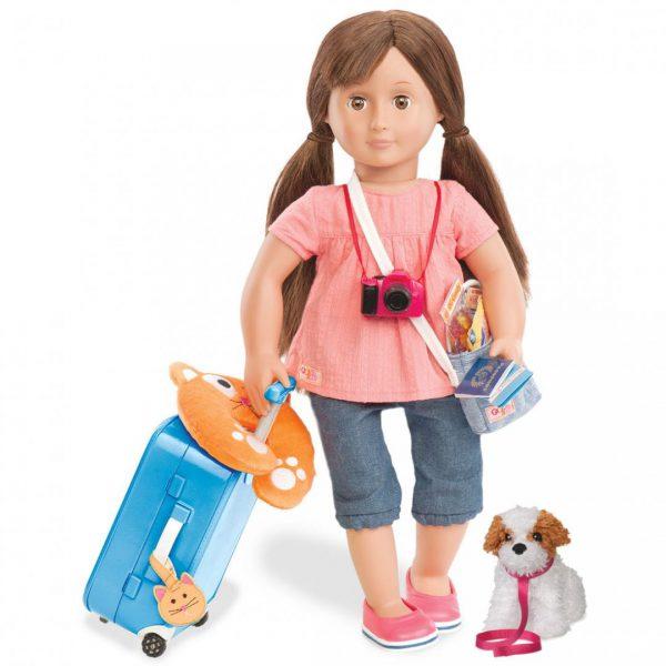 ערכת מזוודה עם ציוד נסיעות