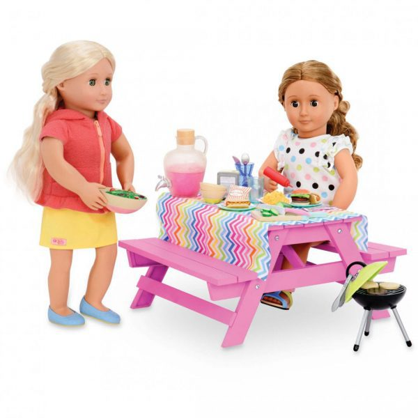 שולחן פיקניק וציוד