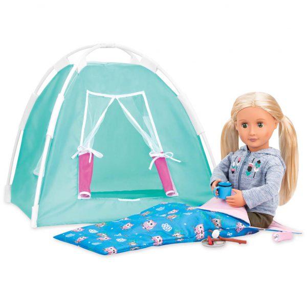 סט קמפינג ואוהל
