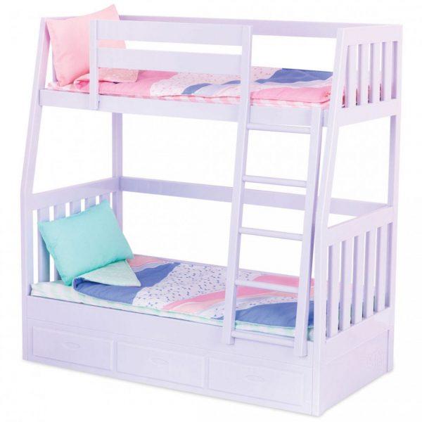 מיטת קומותיים סגלגלה