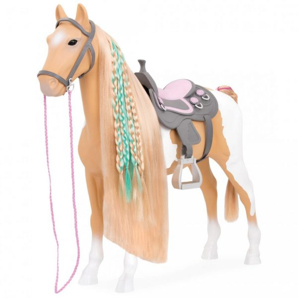 סוס פלומינו לעיצובי שיער
