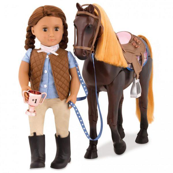 סוס ת'ורוברד - Thoroughbred Poseable Horse