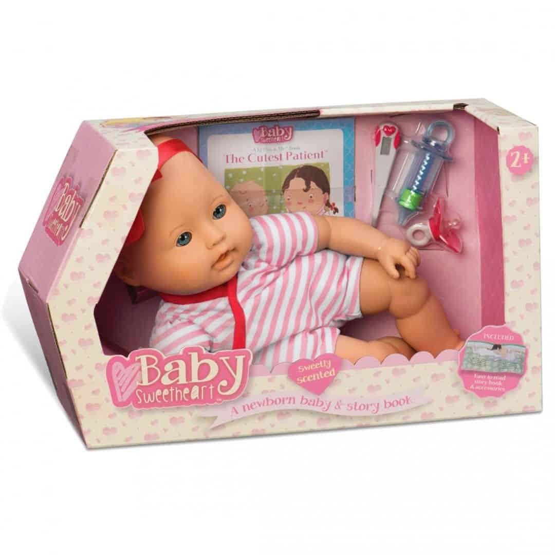 בובת תינוק - בביקור רופא