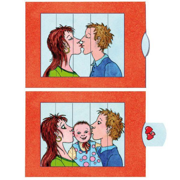 כרטיס ברכה נשיקה