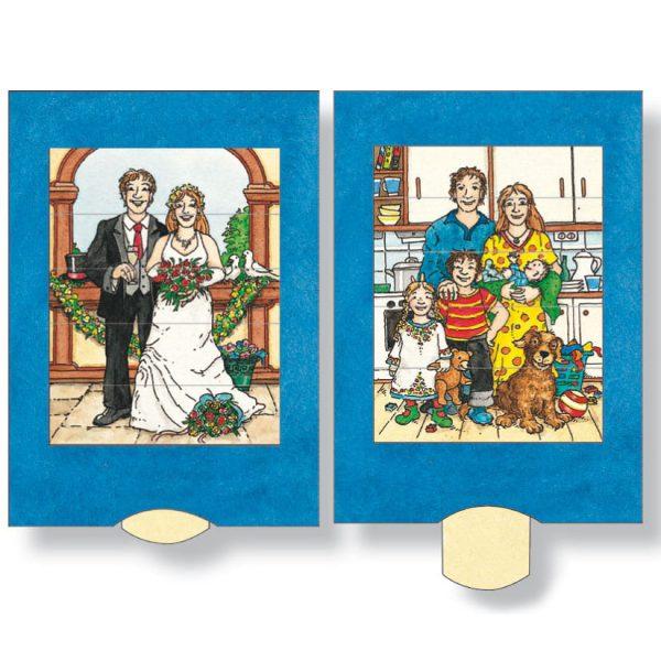 כרטיס ברכה חתונה