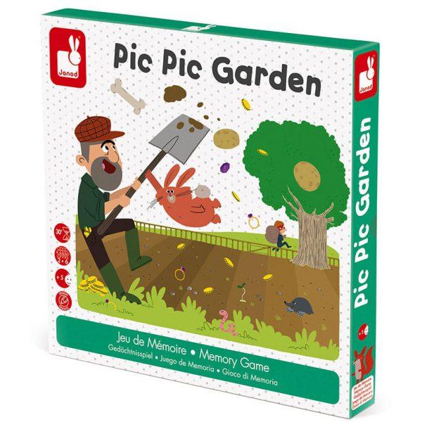 משחק זכרון חפרפרת בגינה