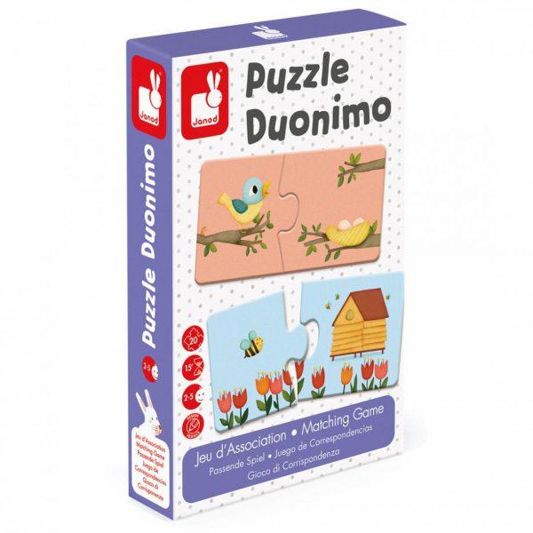 משחק פאזל התאמה 20 חלקים Duonimo