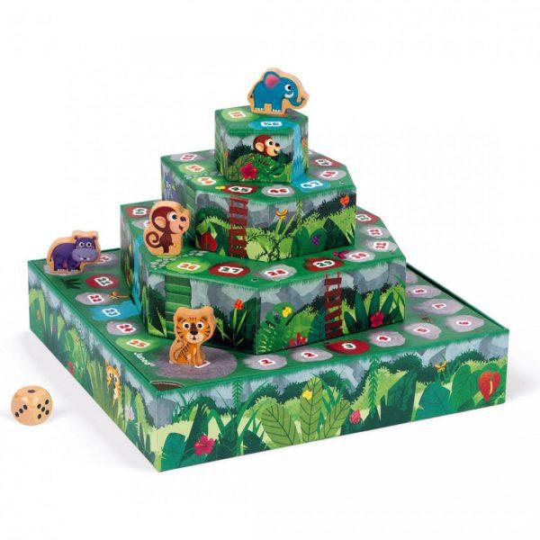 משחק הג'ונגל (סולמות ומפלים)