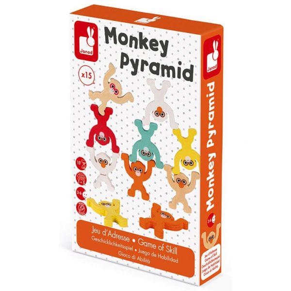 משחק מיומנות - פירמידת הקופים