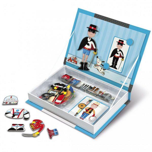 ספר מגנטי - הלבשת ילד