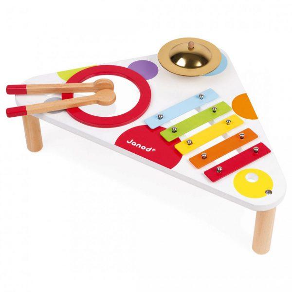 שולחן מוזיקלי בעיצוב קונפטי