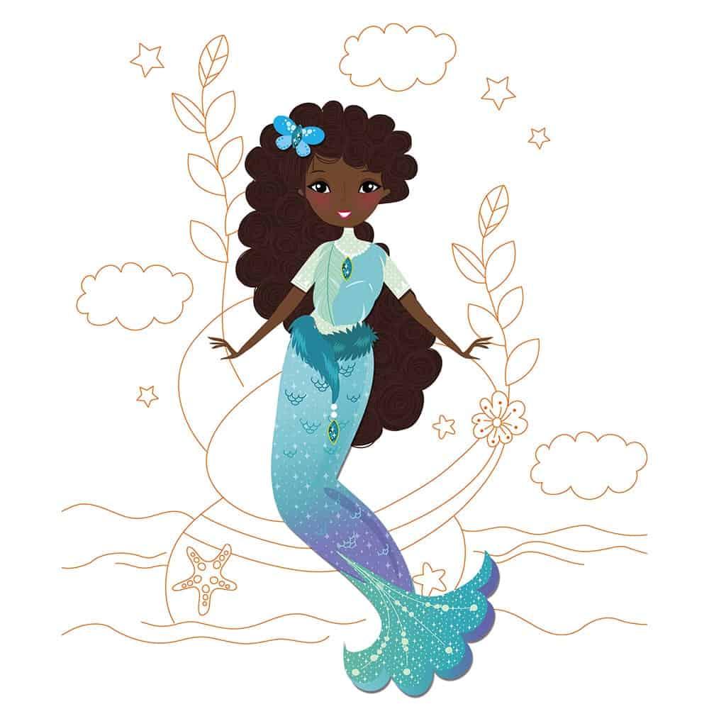 ערכת הלבשה אופנתית - בנות ים