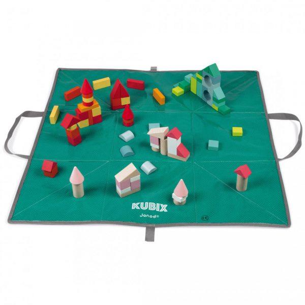 קוביקס משטח משחקי קוביות 80 חלקים