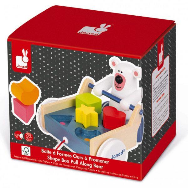 עגלת צורות דוב הקוטב