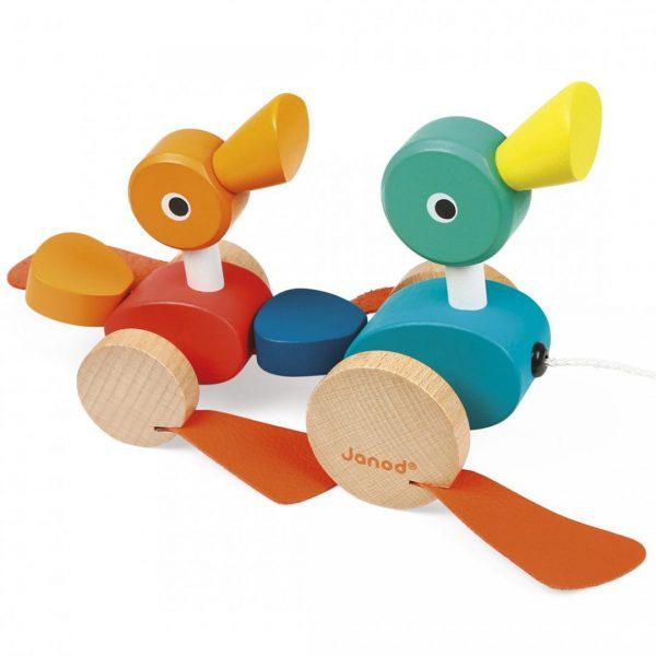 צעצוע משיכה ברווזונים