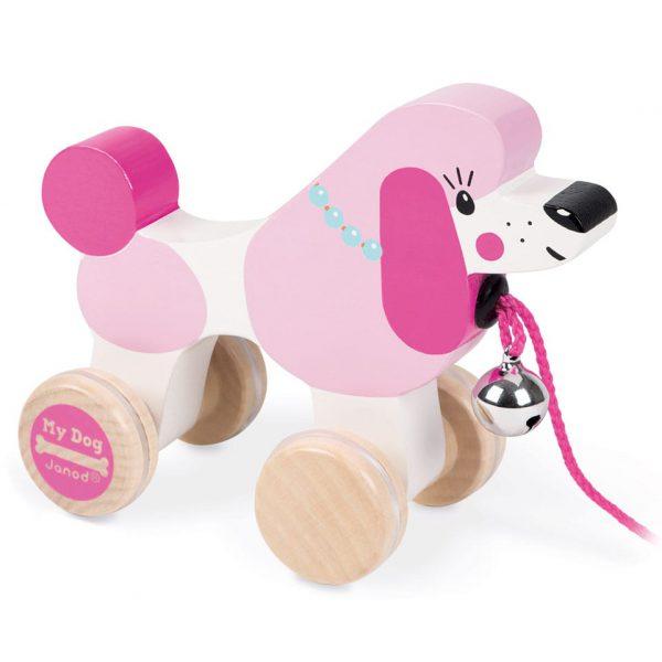 צעצוע משיכה פודל - סדרת הכלב שלי