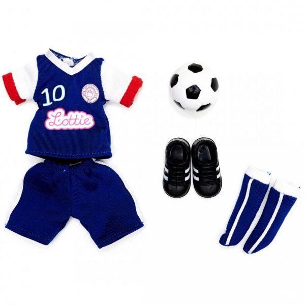 חליפת כדורגל וכדור