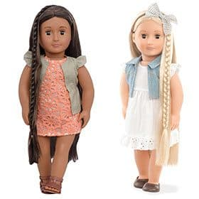 Hair Grow Dolls