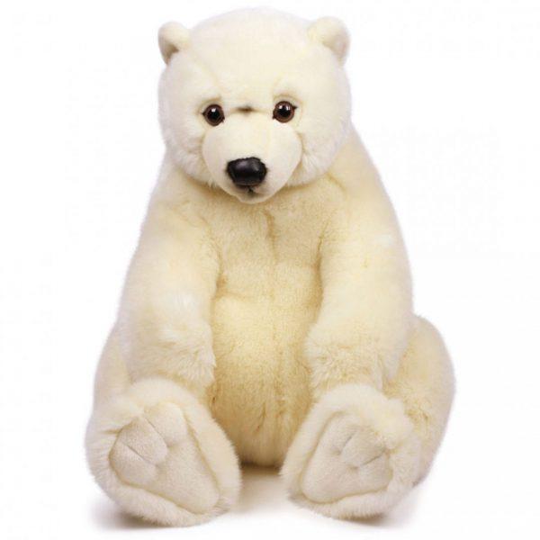 """דוב קוטב יושב 47 ס""""מ"""