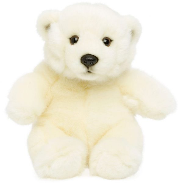 """דוב קוטב יושב 15 ס""""מ"""