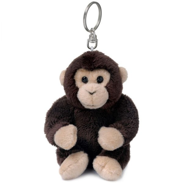 """מחזיק מפתחות שימפנזה 10 ס""""מ"""