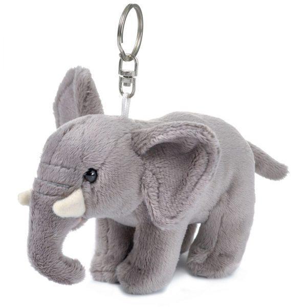 """מחזיק מפתחות פיל אפריקאי 10 ס""""מ"""
