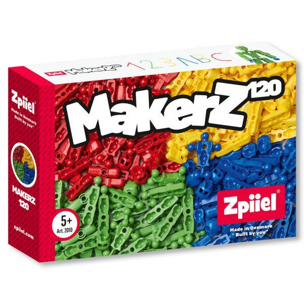 הרכבות 120 חלקים (4 צבעים)