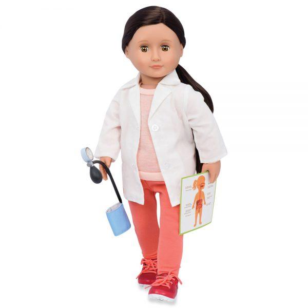 ניקולה רופאת המשפחה - Nicola בובת Our Generation